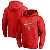 St. Louis Cardinals Fanatics Branded Team Lockup Pullover Hoodie - Red