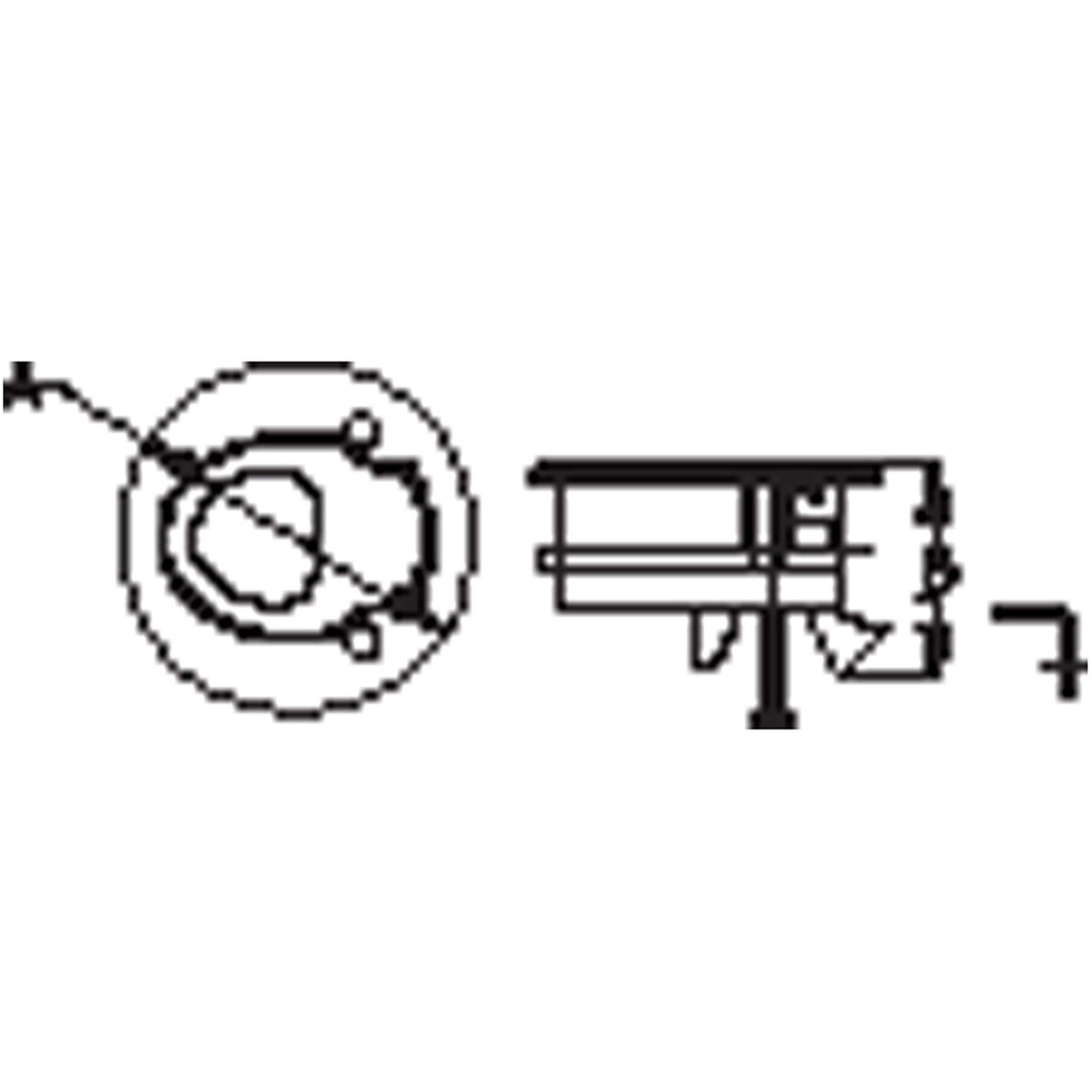 Sea-Dog 228120-1 Flush-Mount Slam Hatch White