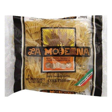 Fideo Pasta - La Moderna Coil Fideo Pasta, 7 OZ (Pack of 20)