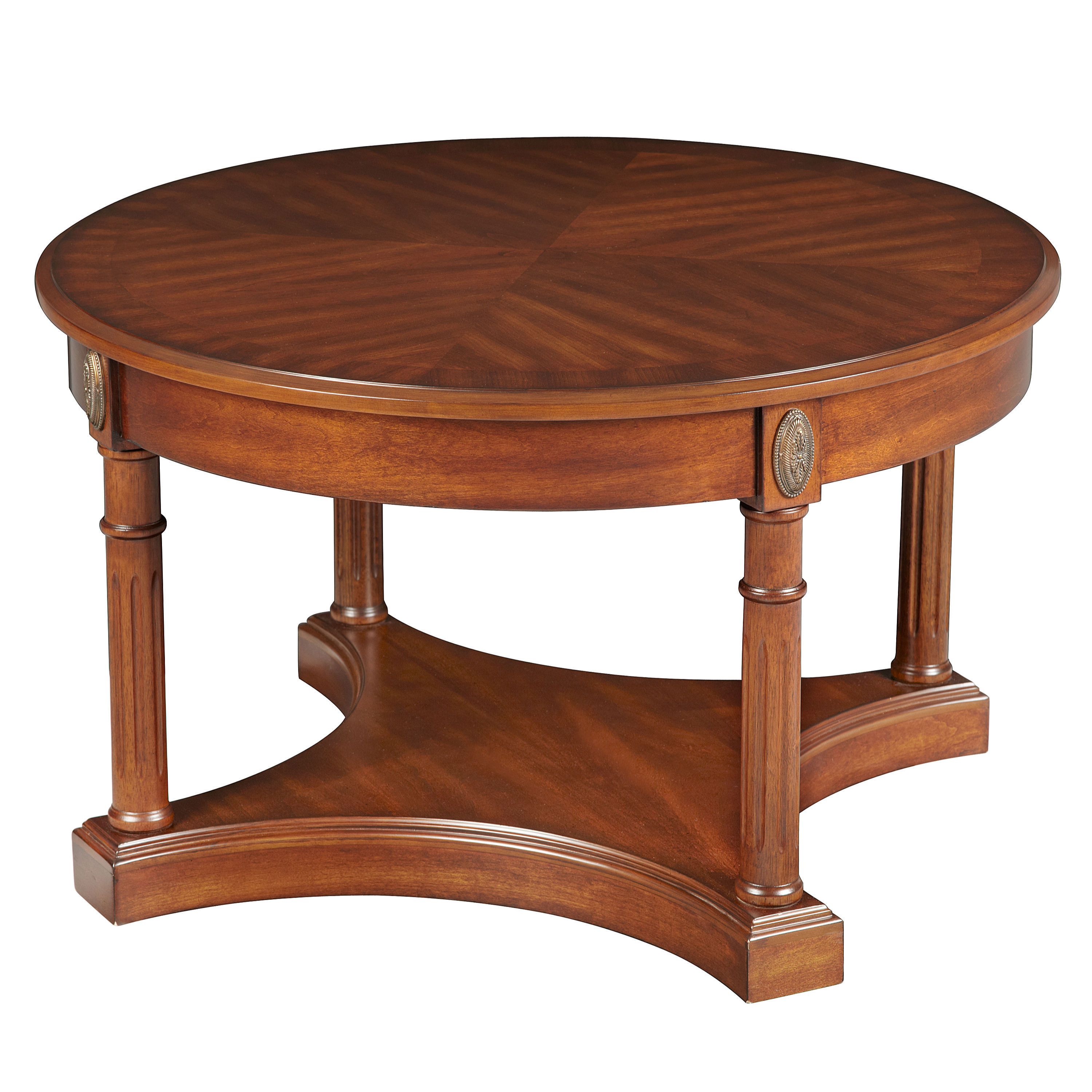 Bombay Outlet Athena Coffee Table - Antique Cherry