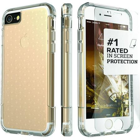 Saharacase Apple iPhone 7 Crystal Clear Inspire Protective Kit