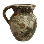 Vintage Gray Ceramic Pot