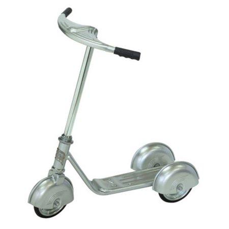 Morgan Cycle Retro Vintage Scooter - Silver