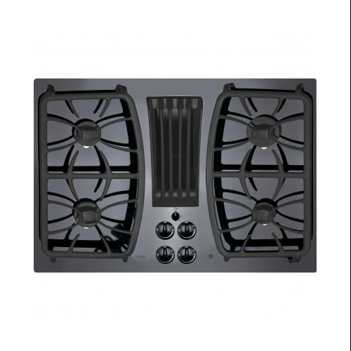 Ge Profile Pgp9830djbb 30 Gas Downdraft Cooktop With 4 Sealed Burners Gas On Glcooktop