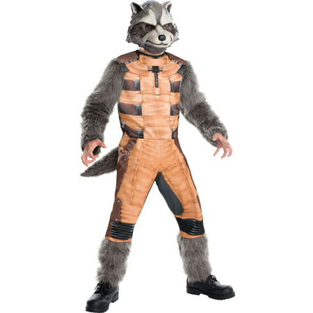 Guardians of the Galaxy Deluxe Rocket Raccoon Child Halloween Costume for $<!---->