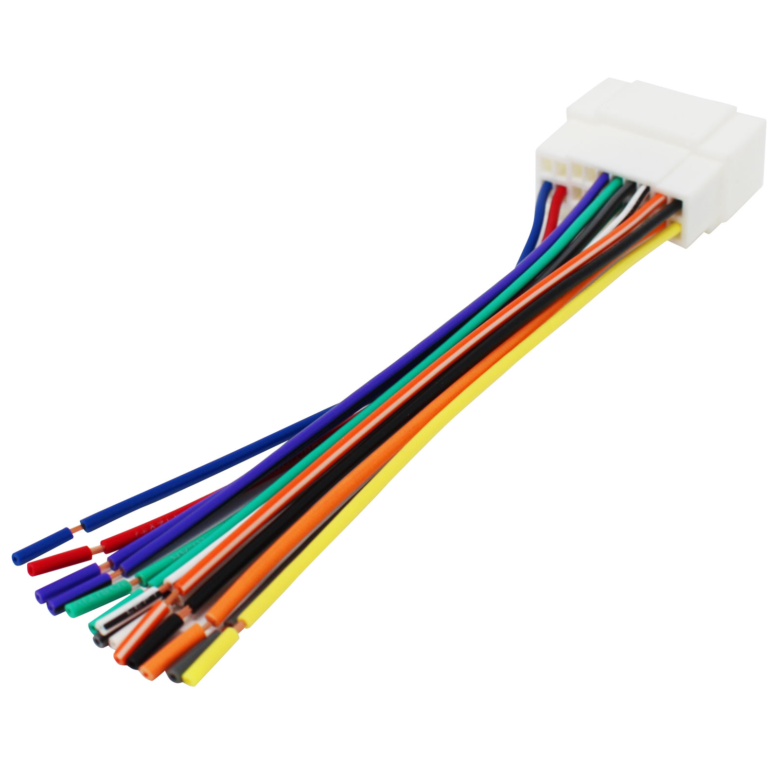 Replacement Radio Wiring Harness for 2005 Honda Civic LX Sedan 4-Door 1.7L - Car Stereo Connector - image 1 of 4