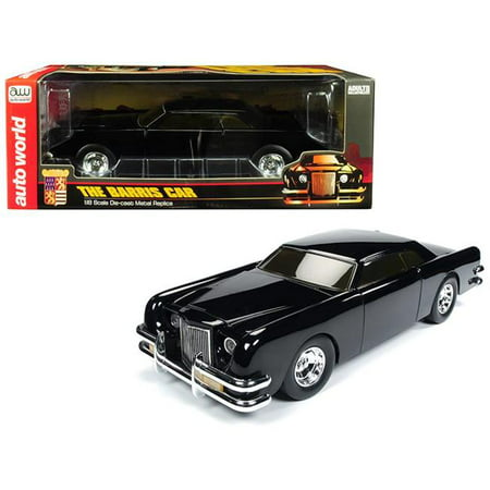 The Barris Car Black Sparkle 1/18 Diecast Model Car by