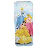 Disney Princess Light Blue Kids Tin Pencil Box