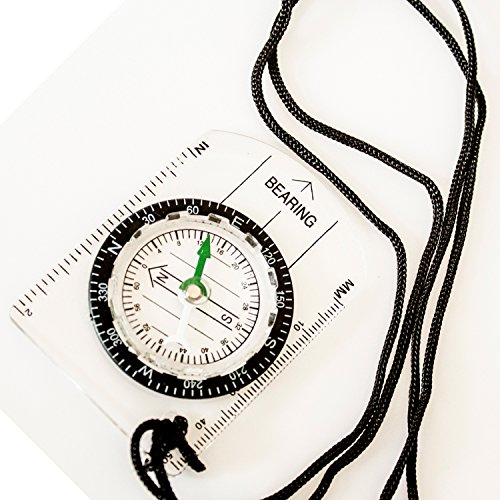 Best Sighting Compass for Camping & Outdoors Perfect for Scouts, Kids, & Just Making Learning Maps Fun! by Under Control Tactical