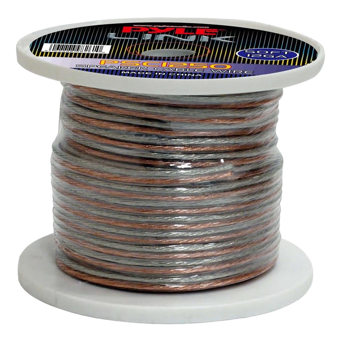 12 Gauge 50 ft. Spool of High Quality Speaker Zip Wire - Walmart.com