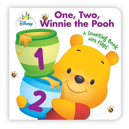 Disney Baby One, Two, Winnie the Pooh (Board Book) Winnie The Pooh Birth Announcements