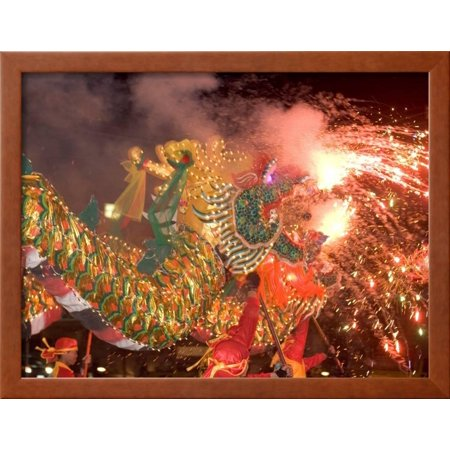 Dragon Performers at Chinese Thanksgiving Festival, Khon Kaen, Isan ...