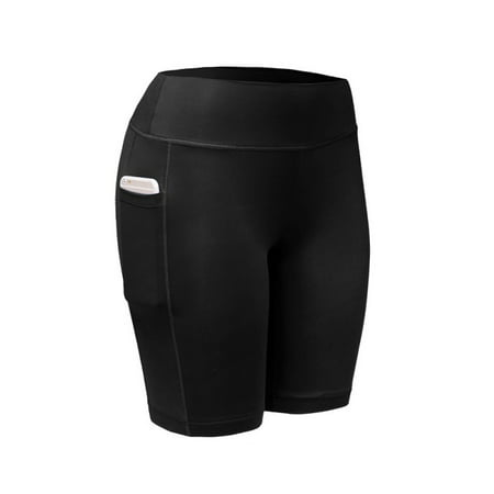 OUMY Women Sports Fitness Compression Shorts Yoga Pants