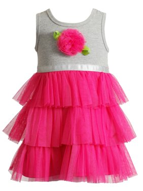 ab2bd434d0a Product Image Youngland Little Girls Tutu Dress Hot Pink Rose 2T