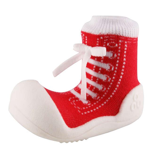 Attipas AS01-S Sneakers Shoes US 3.5, Red - Small