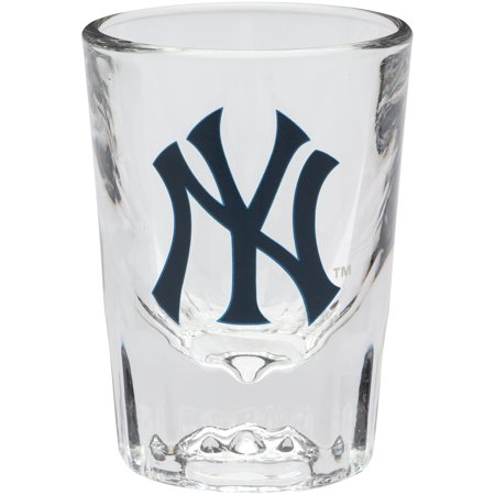 New York Yankees 2oz. Fluted Collector Shot Glass New York Jets Shot Glass