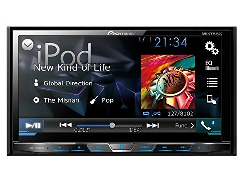 Pioneer AVHX5700BHS Double-DIN DVD Receiver with 7-Inch Motorized Display, Bluetooth, Siri... by Pioneer