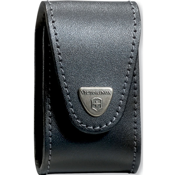 Victorinox SwissChamp XLT Belt Leather Pouch - Black