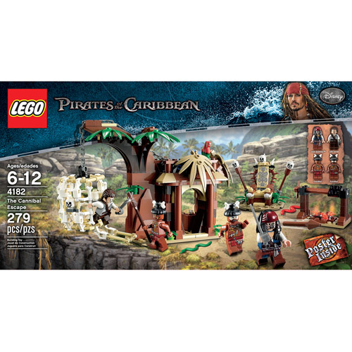 Lego Pirates of the Caribbean The Cannibal Escape by LEGO Systems, Inc.