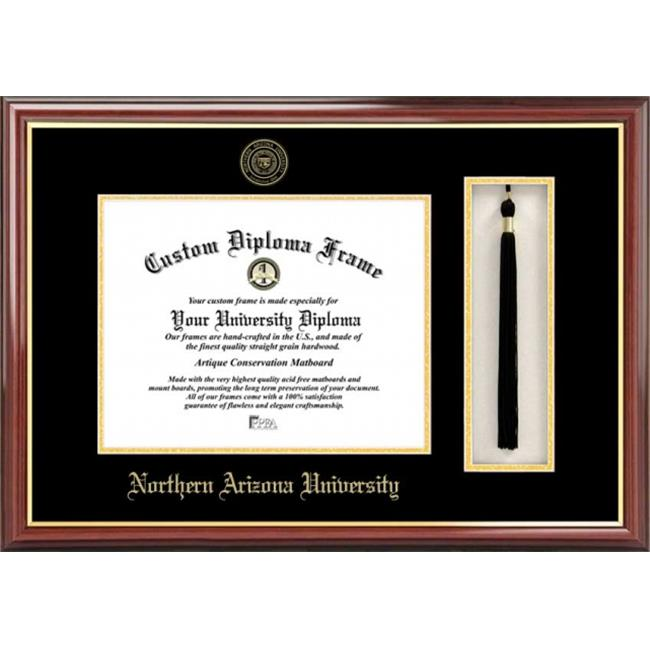 "Northern Arizona University 8.5"" x 11"" Tassel Box and Diploma Frame"