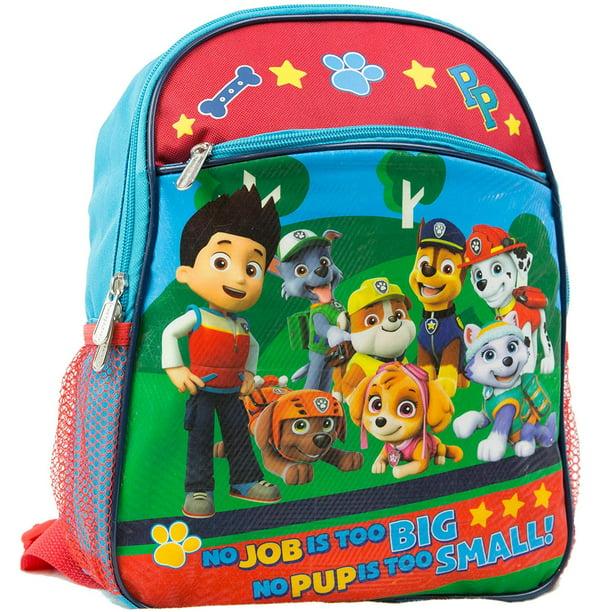 "nick jr  nickelodeon paw patrol 12"" toddler backpack"