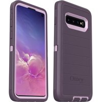 OtterBox Defender Series Rugged Case for Samsung Galaxy S10, Purple Nebula