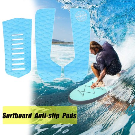 Surfboard Traction Pads,Surfboard Tail Pad,Zerone 3pcs EVA Anti-slip Surfboard Traction Pads Tail Pad Surfing Sports