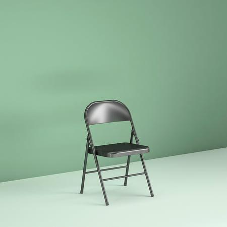 Mainstays Steel Folding Chair 4 Pack Black Best