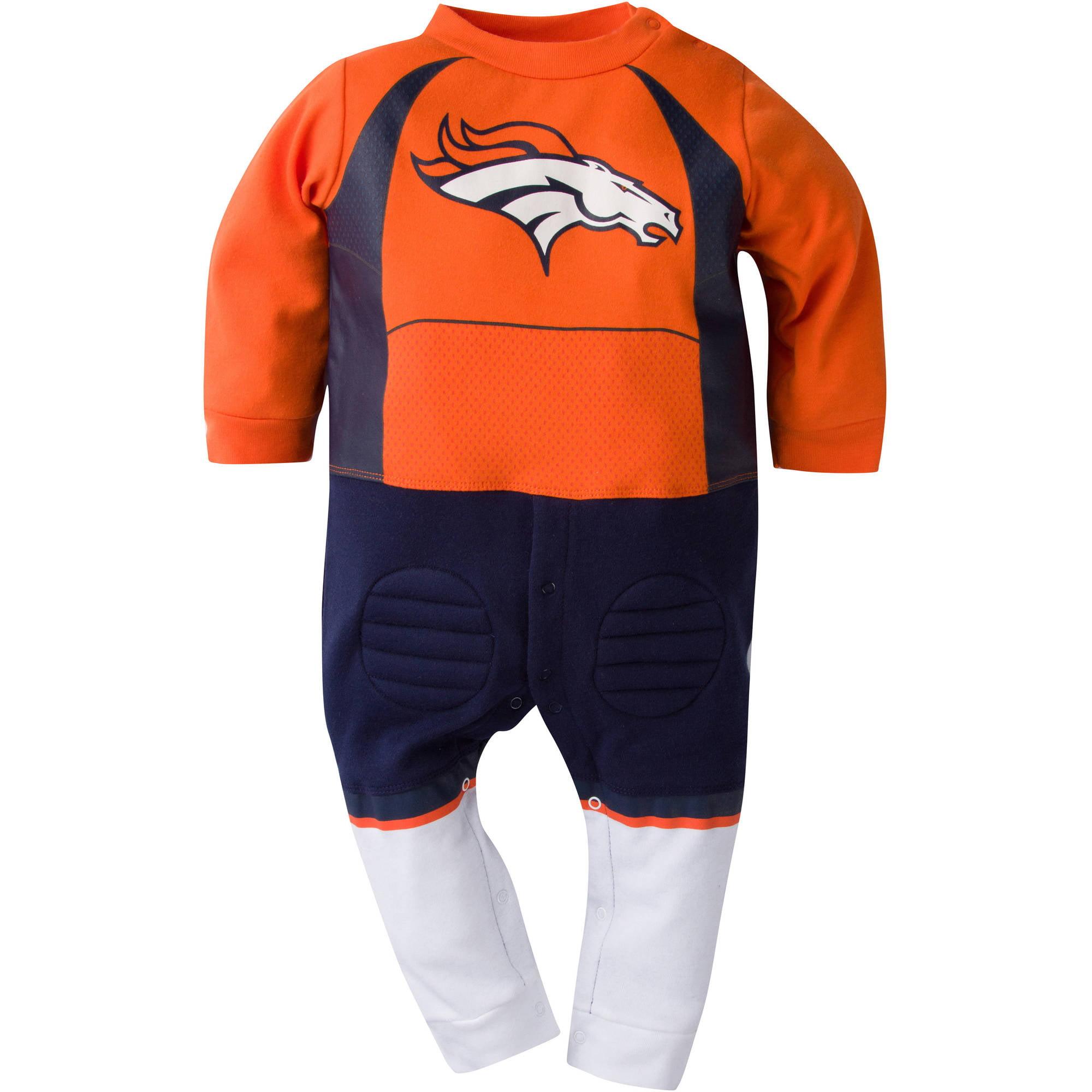 NFL Denver Broncos Baby Boys Team Uniform Footysuit