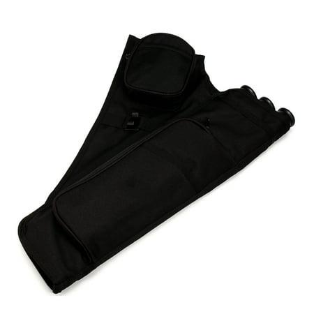3 Tube Hip Back Adjustable Waist Belt Bow Quiver Archery Arrows Holder Bag Case thumbnail
