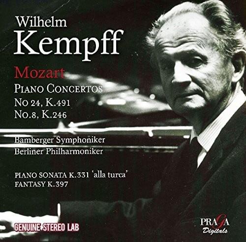 Mozart / Kempff, Wilhelm - Piano Concertos Nos 8 & 24 [CD]