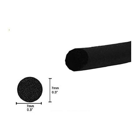 O Filler Strip Car Door Weatherstrip Rubber Edge Seal Strip Black Sound Blocking/Weatherproof Weather Strip (15ft)