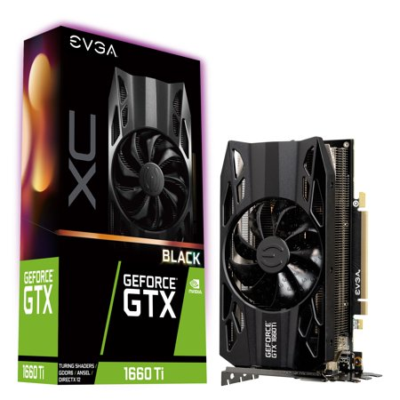 EVGA GeForce GTX 1660 Ti XC Black 06G-P4-1261-KR Graphic Card - Plus Free TORQ X5 Mouse ()