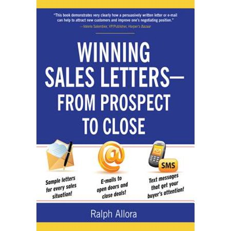 Winning Sales Letters From Prospect to Close - eBook