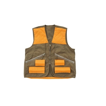 Allen 17552 Men's Brown/Orange Spring Upland Hunting Vest - Size Small/Medium