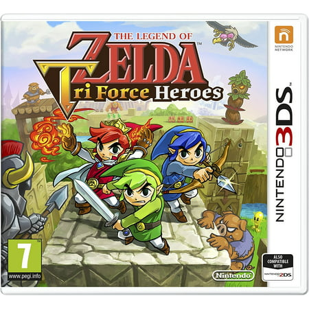The Legend Of Zelda Tri Force Heroes ( 3DS) by, By Nintendo From (The Legend Of Zelda The Hero Of Time)