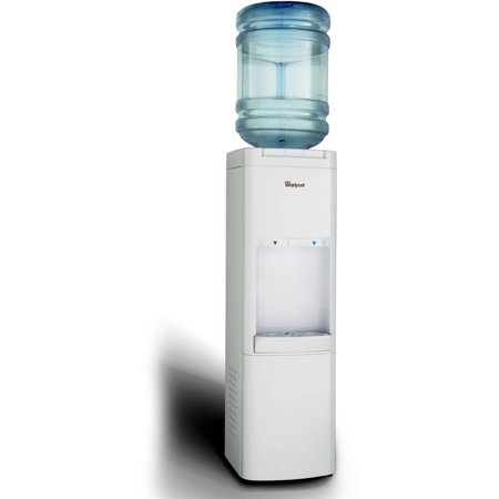 Best Whirlpool Commercial Water Dispenser Water Cooler with Ice Chilled Water Cooling Technology, White deal