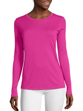 Hanes Sport Women's Active CoolDri Performance Long-Sleeve Tee