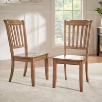 Weston Home Farmhouse Dining Chair with Spindle Back (Set of 2)