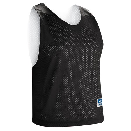 Champro Stick Lacrosse Reversible Jersey - Black/White - Adult Medium Adidas Reversible Mesh Jersey