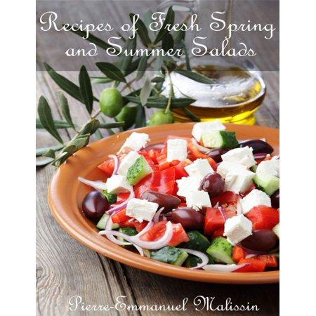 50 Recipes of Fresh Spring and Summer Salads - eBook](Spring Salad Ideas)