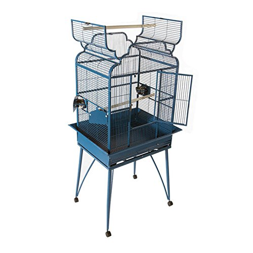 """AE Cages Home Pet Birds Supplies 26""""X20"""" Victorian Open Top White"""