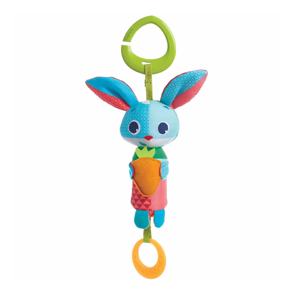 Crinkly Bunny Tiny Love Clip on Toy