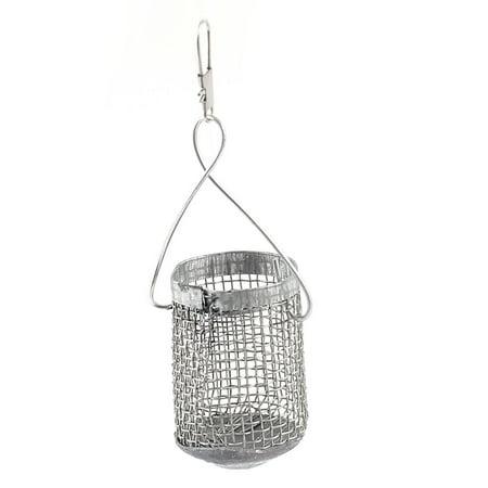 5 4 meter 7 branch hook fishing line w metal fish lure for Fish basket walmart