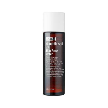 By Wishtrend Mandelic Acid 5% Skin Prep Water Toner, 4.1 Fl (Best Korean Toner And Moisturizer)