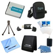 EN-EL19 Battery Kit Table-top Tripod Lens Cleaning Kit Deluxe Carrying Case Micro Fiber Cloth Memory Card Wallet USB 2.0 Card Reader Screen Protectors Nikon Coolpix S7000 S33 S3700 S6900 S32