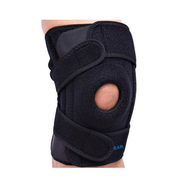 Riptgear Patella Knee Brace Open Patella Design Medium Left Leg