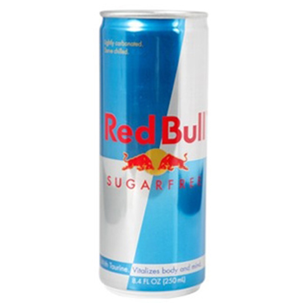 Red Bull Sugar Free Energy Drink 8.4 oz Cans - Pack of 24