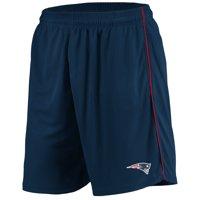 Men's Majestic Navy New England Patriots Mesh Shorts