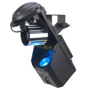 American DJ Inno Pocket Fusion 12W LED Laser Barrel Mirror Scanner Light Effect